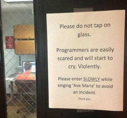 como entrar sala llena programadores