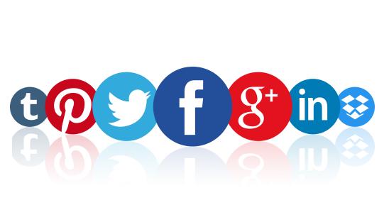 Tabla periódica de las redes sociales.