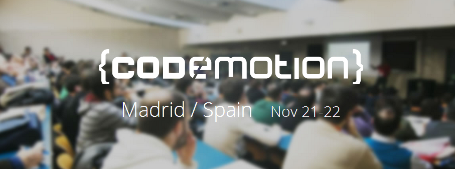 Codemotion 2014.